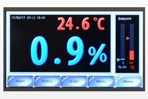 Floor life reset cabinets - control panel