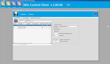 MSL 2.0 software - Monitoring