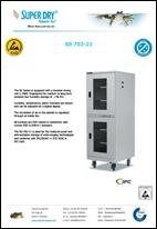 Dry cabinet SD 702-21 datasheet