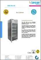 XSD 701-54 dry cabinet datasheet