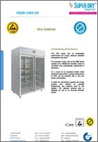XSDB 1402-54 dry cabinet datasheet