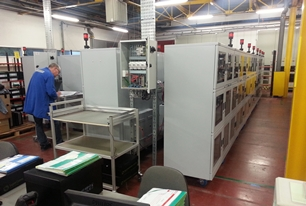 SD 1106 series cabinet project at Sagem