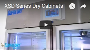 XSD dry cabinets video - watch video