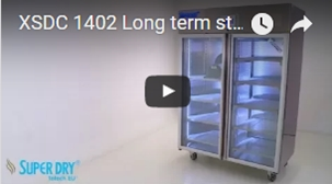 SDB series entry level dry storage cabinets - watch video