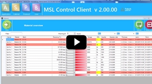 MSL 2.0 track & trace software - watch video