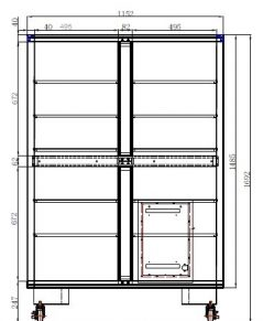 ESDA 804-00 technical drawings