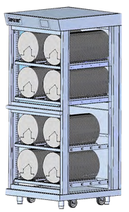 MSD series modular dry cabinets - MSD