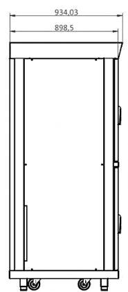 Modular MSD series technical drawings