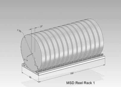 MSD Reel rack 1