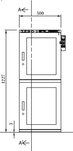 SD+ 302-22 technical drawing