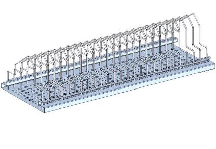 SMD reel rack