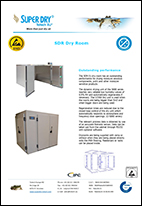 SDR 52 walk in dry rooms datasheet