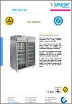 XSD 1402-54 dry cabinet datasheet