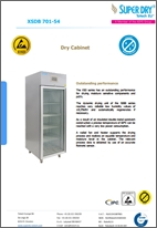 XSDB 701-54 dry cabinet datasheet