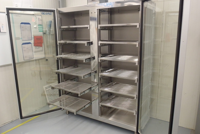 Dry Cabinet project at Infineon
