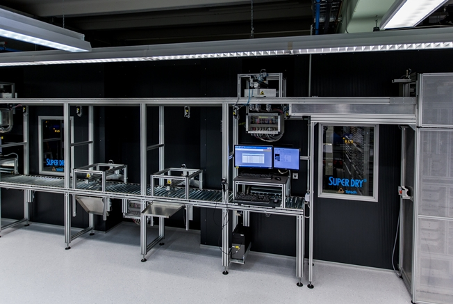 Totech Dry Tower automated storage system