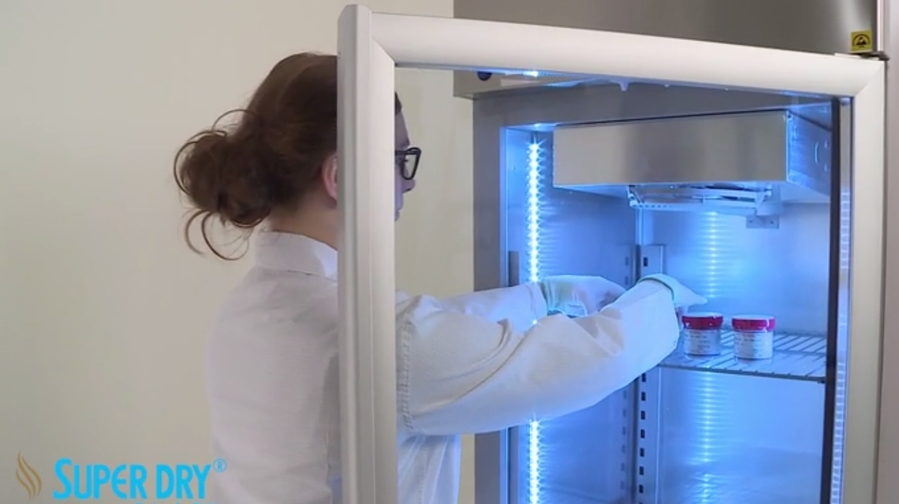 XSDC solder paste storage cabinets video- watch video