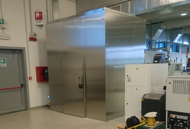 Texa custom built dry room project by Super Dry Totech